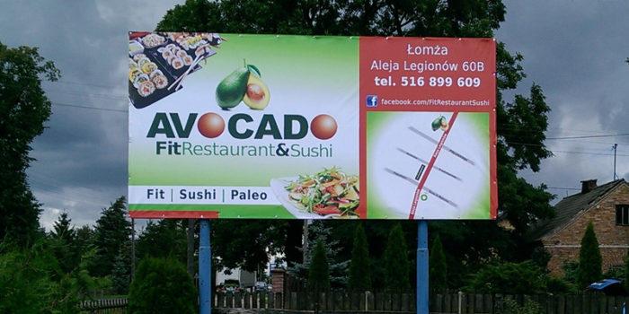 AVOCADO - baner reklamowy