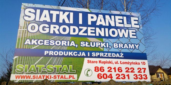 SIAT-STAL - baner reklamowy
