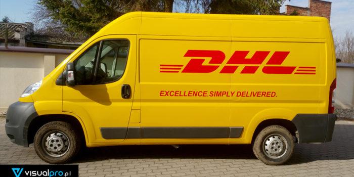 DHL #3 - zmiana koloru + logotypy