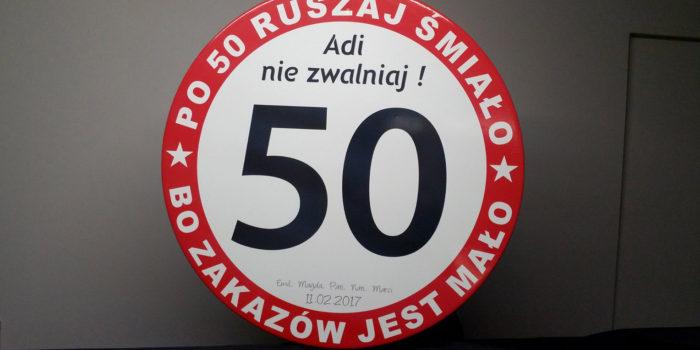 Prezent - Znak Drogowy