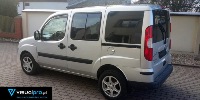 Fiat Doblo - przyciemnianie szyb