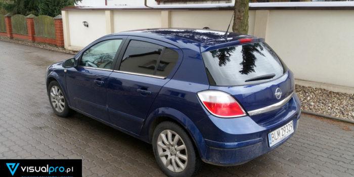 Opel Astra H - przyciemnianie szyb