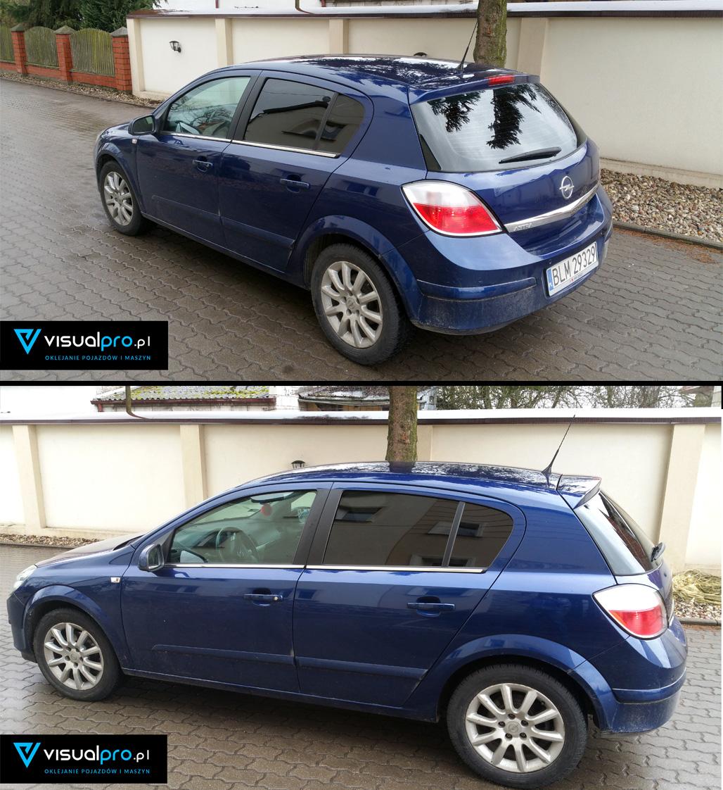 Przyciemniane Szyb Opel Astra H
