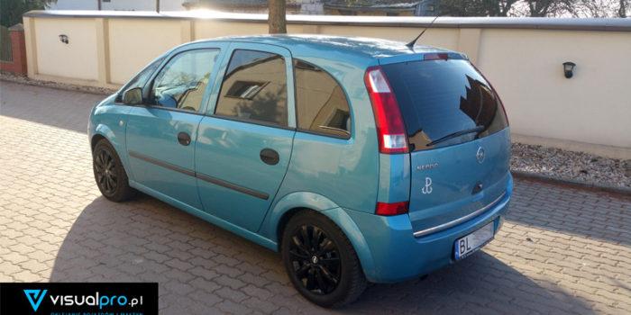 Opel Meriva - przyciemnianie szyb