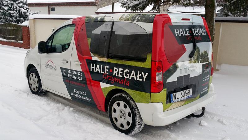 Reklama Na Samochodzie Hale Grzymała