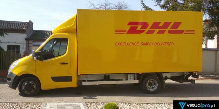 DHL #4 - wielka zmiana koloru + logotypy