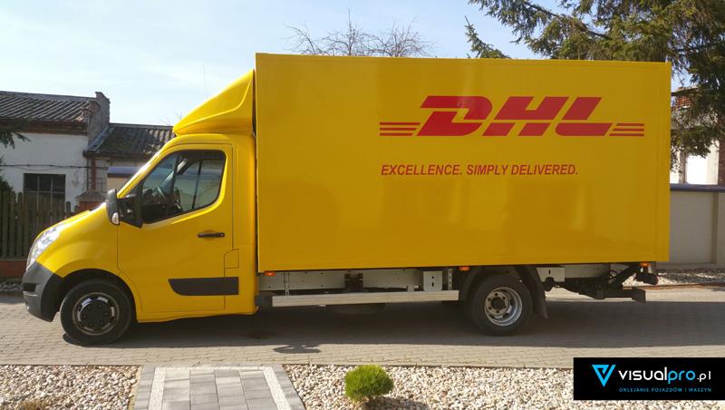 Zmiana Koloru Auta DHL