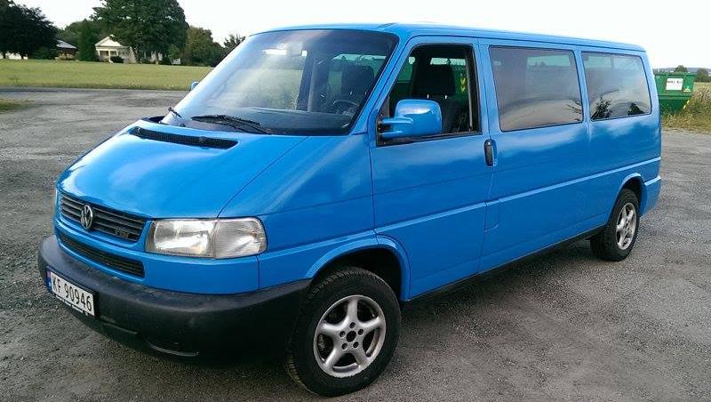 Zmiana Koloru Auta VW Caravelle