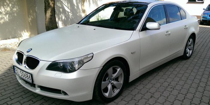 BMW 525i - nowa skóra