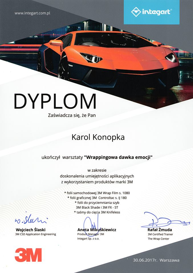 Dyplom Car Wrapping