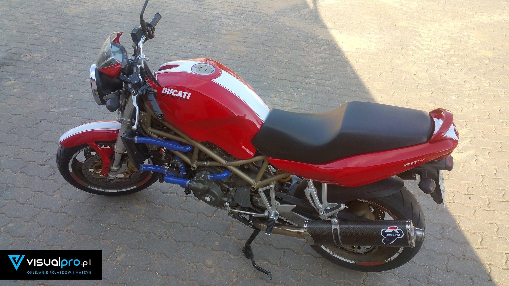 Odnowienie Naklejek Ducati