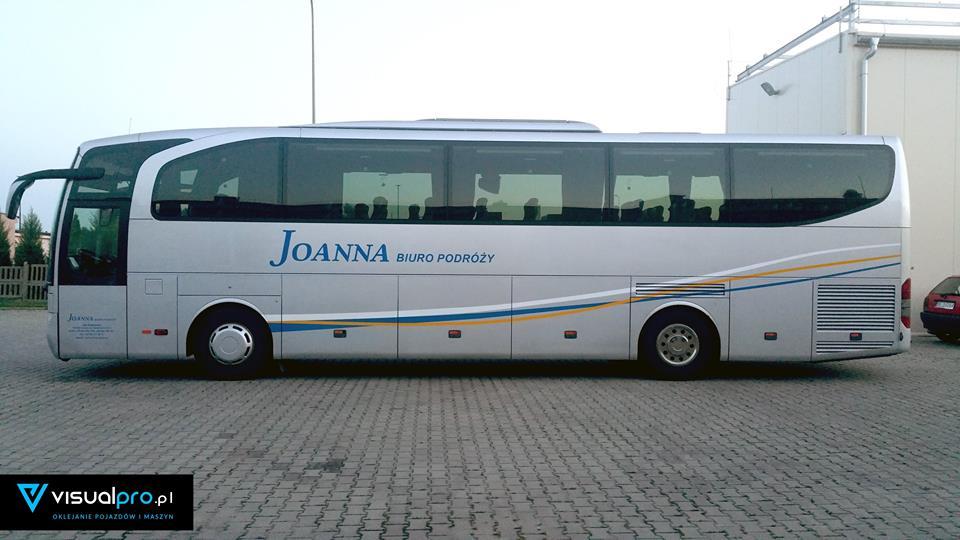 Oznakowanie Autokaru Joanna