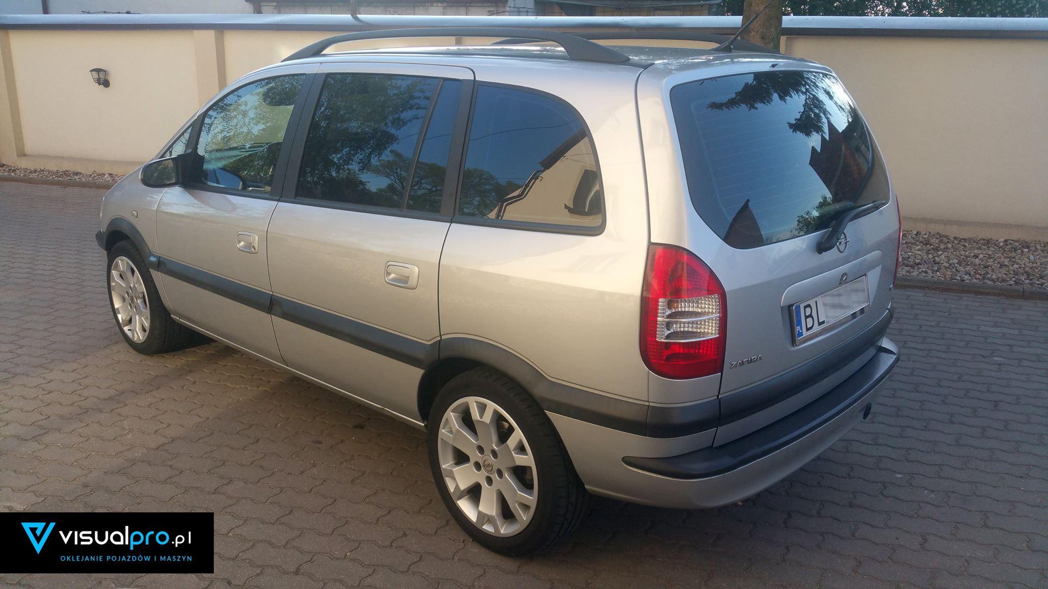Przyciemnianie Szyb Opel Zafira