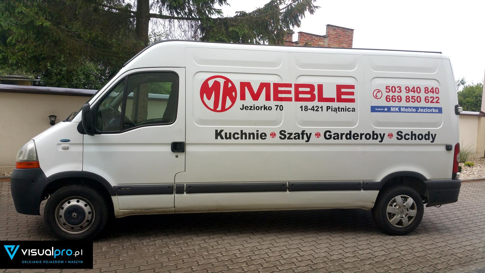 Reklama Na Samochodzie Mk Meble