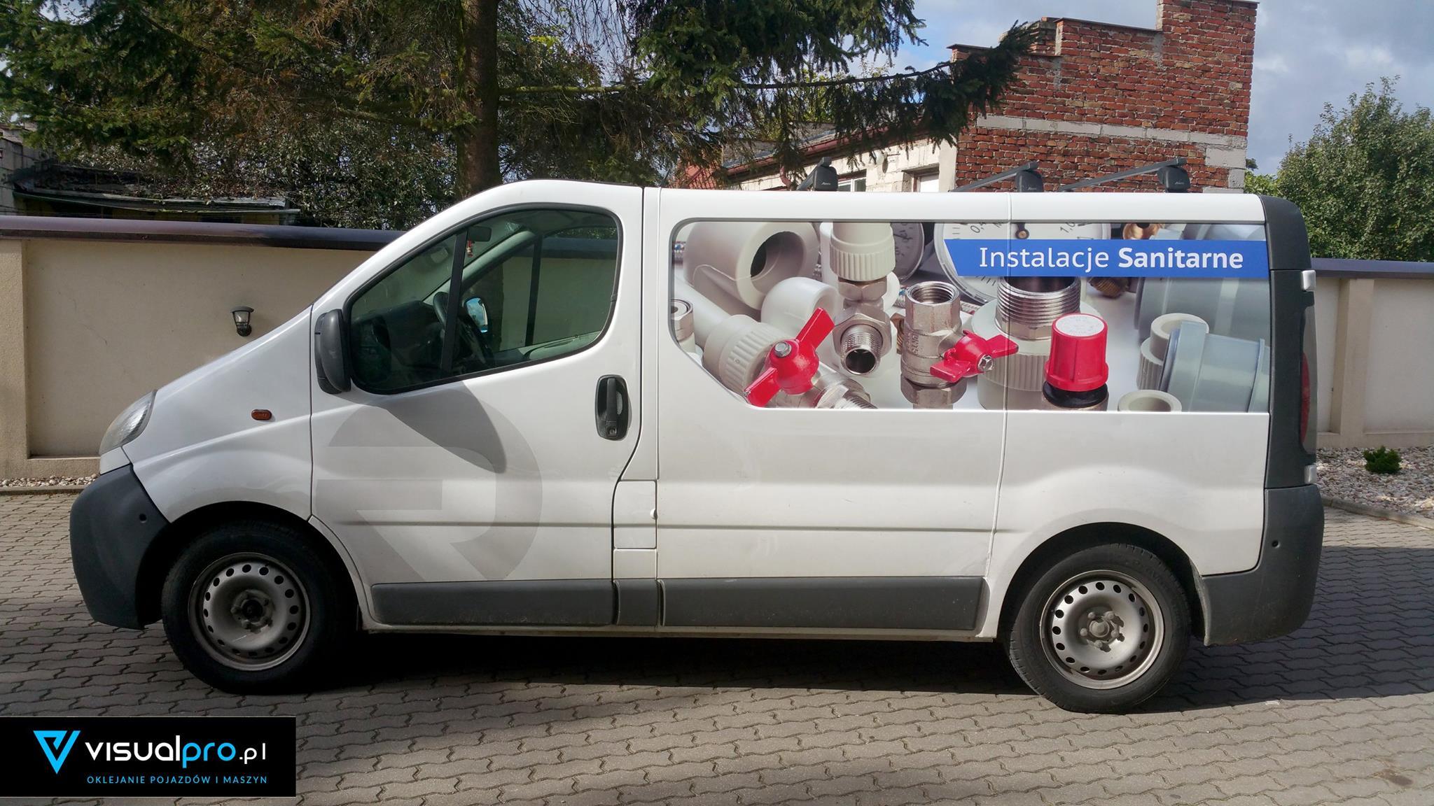 Reklama Na Samochodzie Instalacje Sanitarne