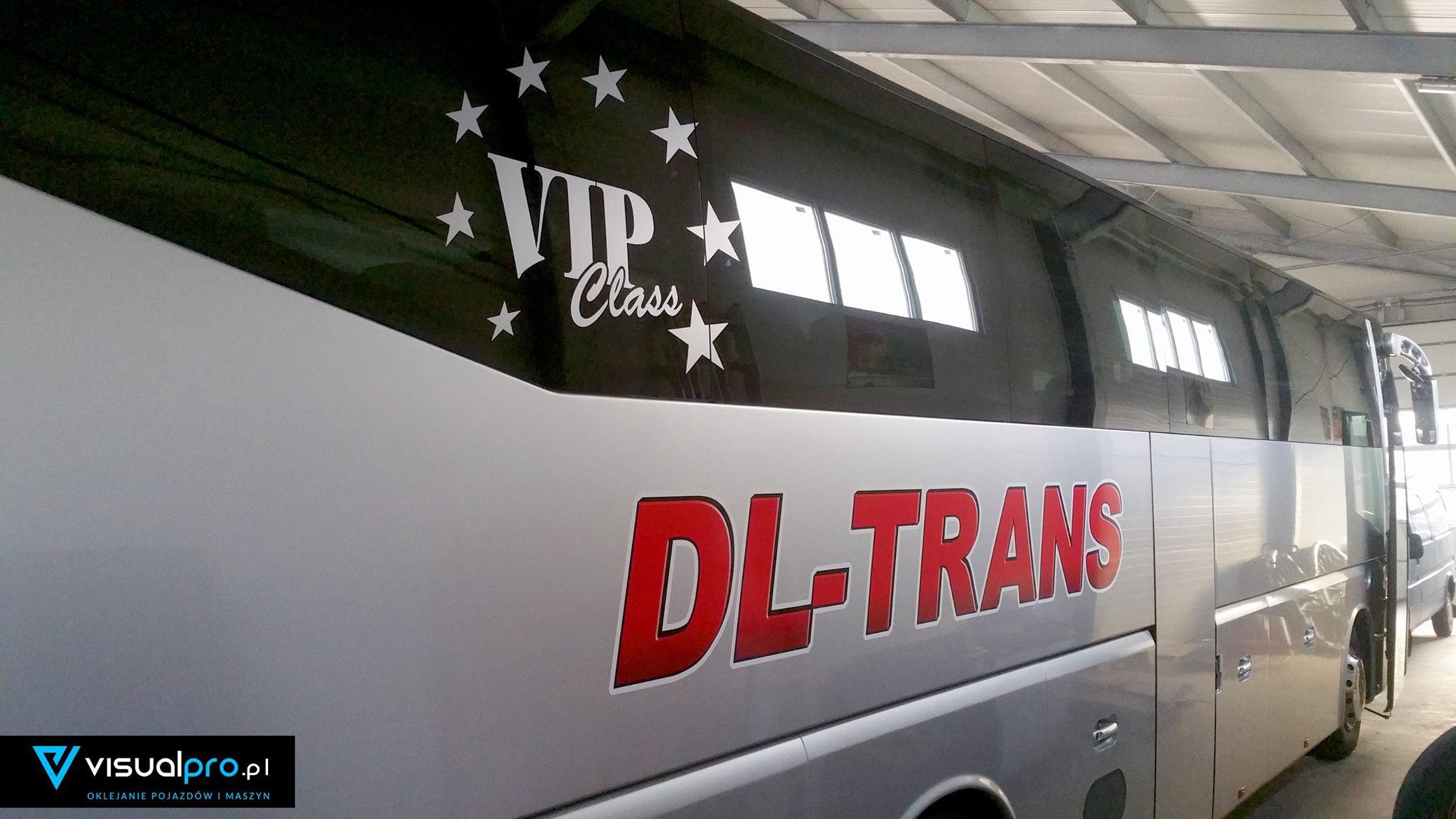 Obrandowanie Autokaru DL TRANS