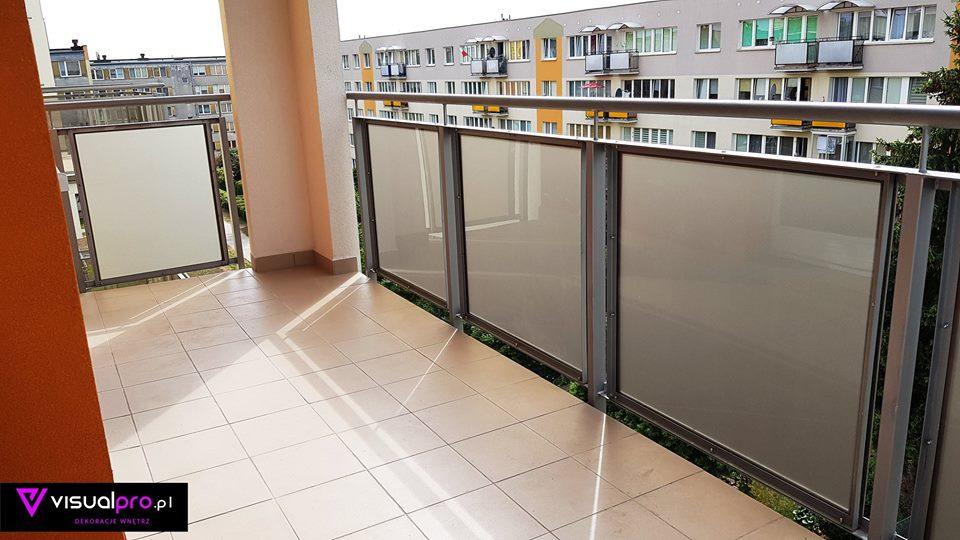 Oklejenie Paneli Balkonowych
