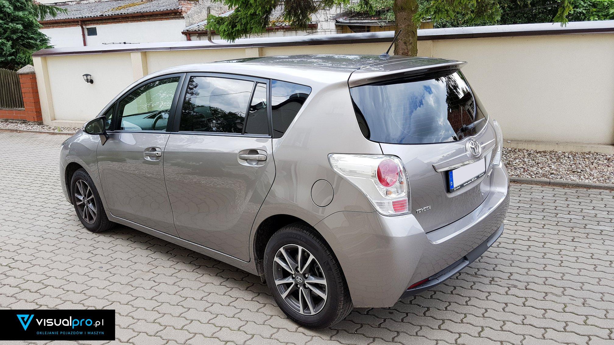 Przyciemnianie Szyb Toyota Verso