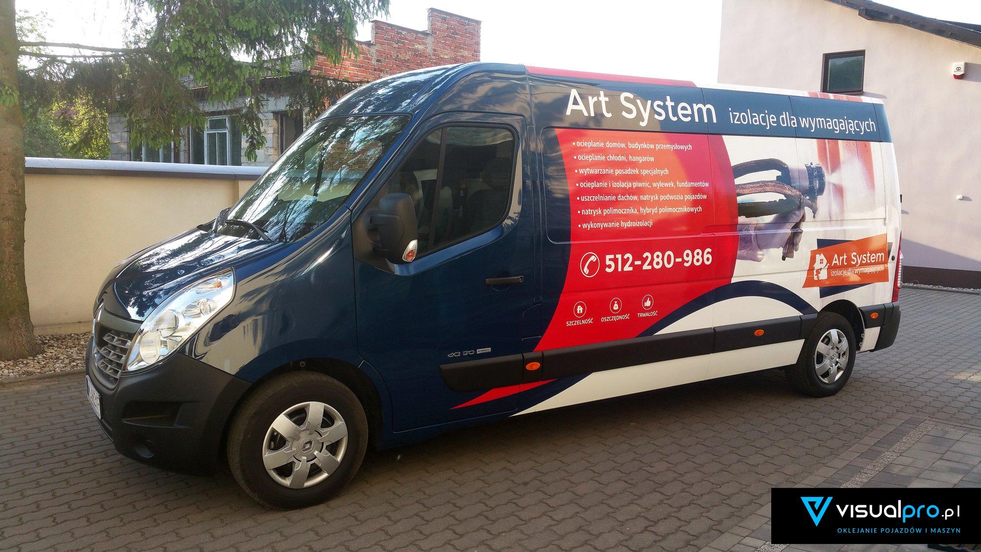 Reklama Na Samochodzie Art System