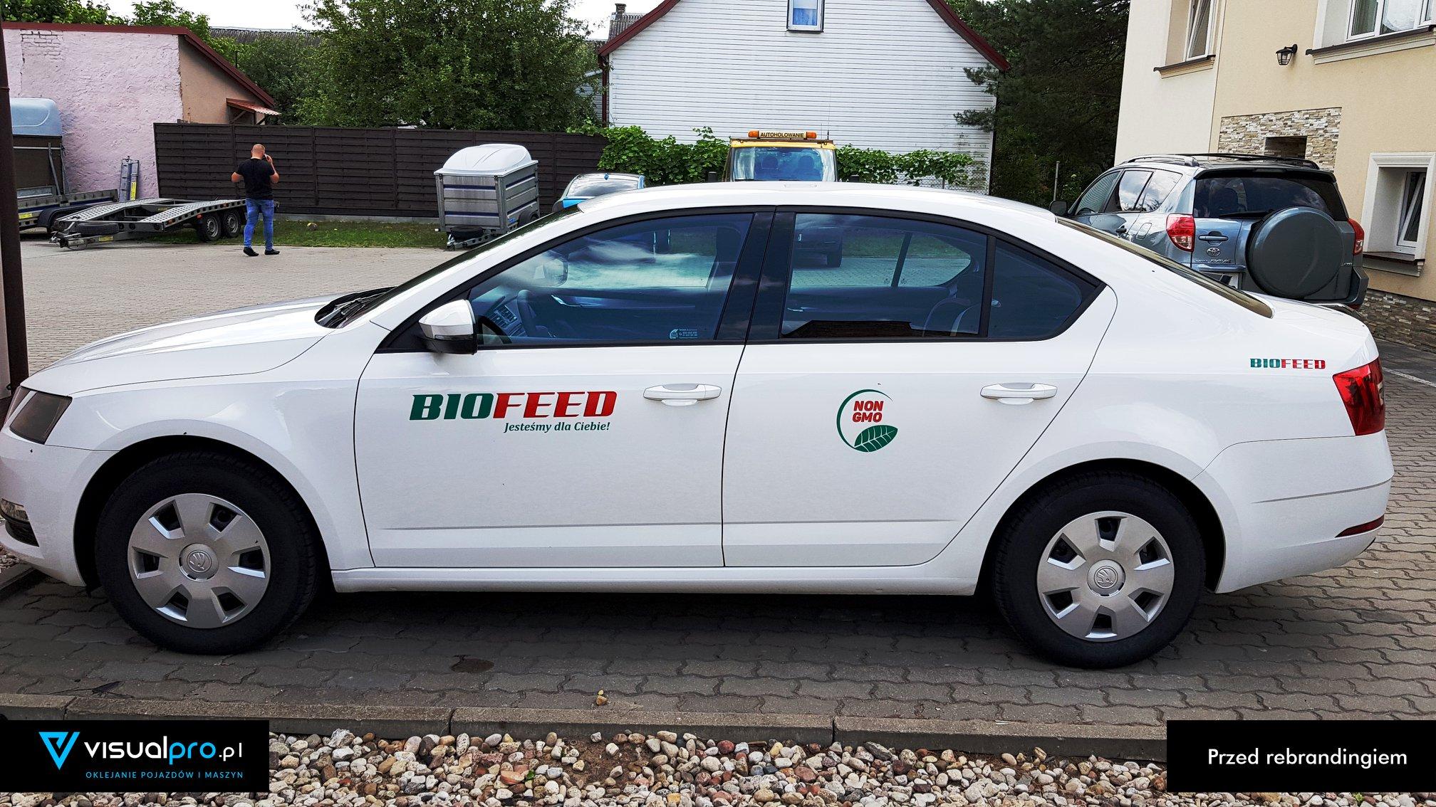 Reklama Na Samochodzie Biofeed