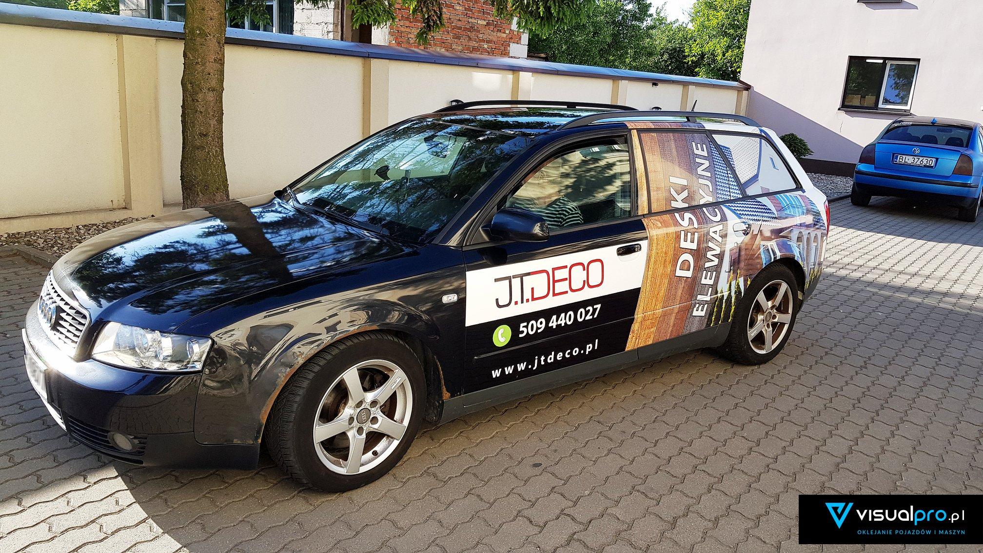 Reklama Na Samochodzie J.T. Deco
