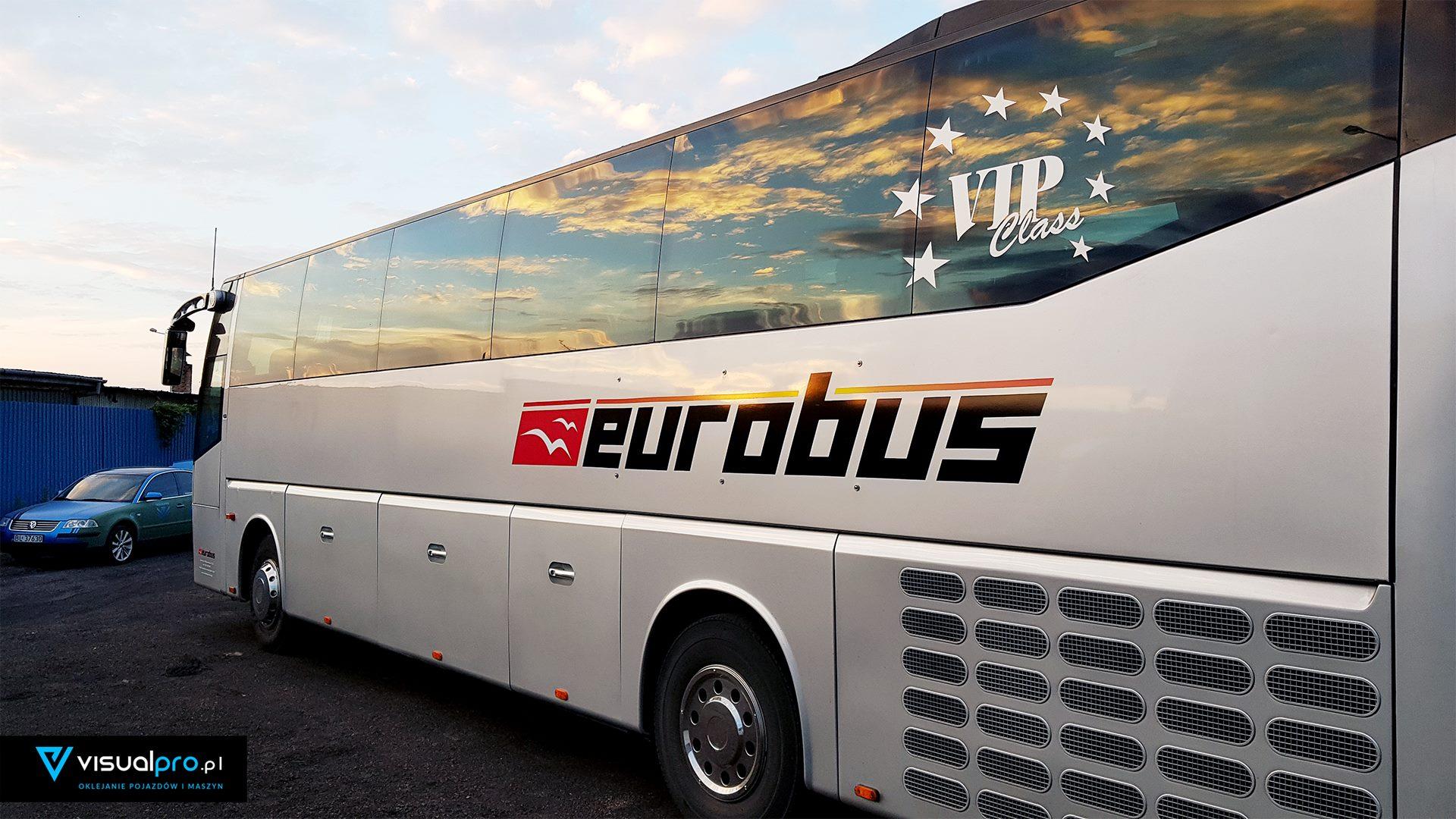 Oklejanie Autobusów EUROBUS