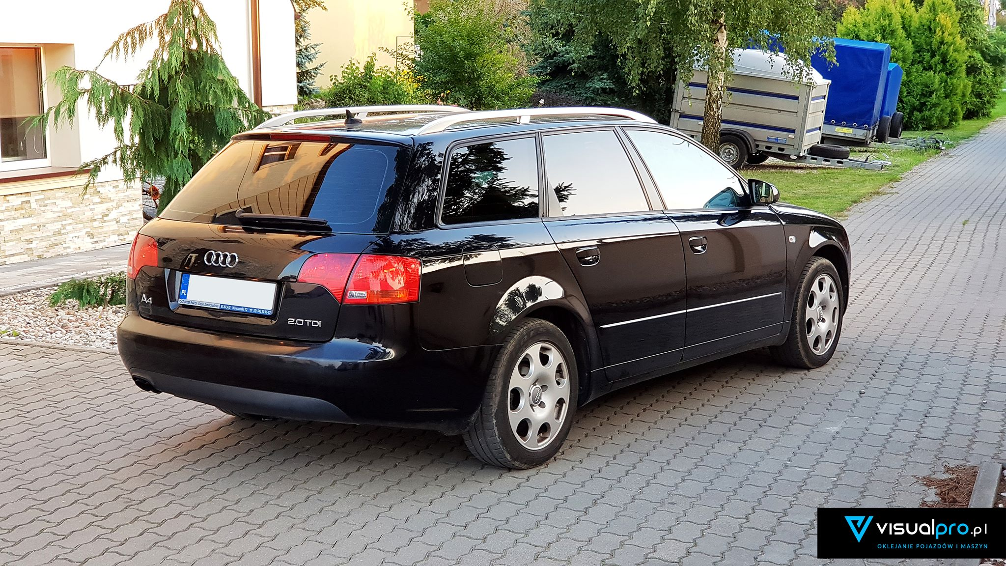 Przyciemnianie Szyb Audi A4