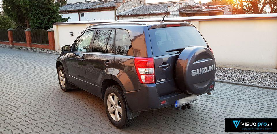 Przyciemnianie szyb Suzuki