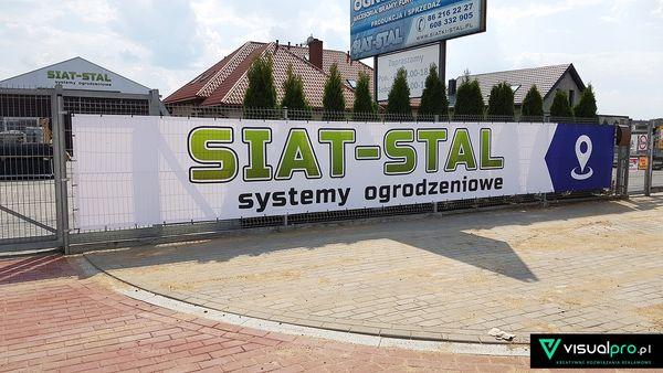 Baner reklamowy Siat-Stal